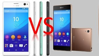 getlinkyoutube.com-SONY XPERIA C4 vs SONY XPERIA Z4