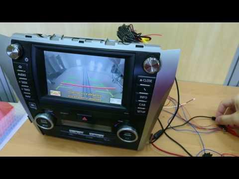 Камера переднего вида Toyota Touch