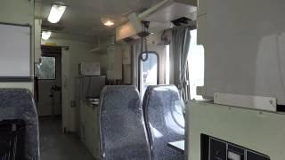 getlinkyoutube.com-中古トラック 日野レンジャー 元消防支援車 工作車 自動中折ドア 発電機 J08C J-2型 作動 エンジン