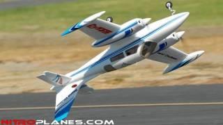 getlinkyoutube.com-New Dynam Grand Cruiser Twin Engine Brushless Plane
