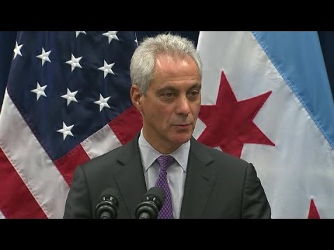 Emanuel defends his record with black community