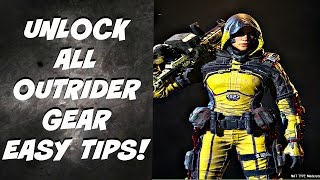 BO3 HOW TO UNLOCK ALL OUTRIDER GEAR EASY TIPS-BLACK OPS 3