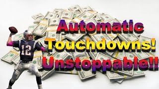 getlinkyoutube.com-Automatic Touchdowns! Unstoppable! -Madden 16 Money Play