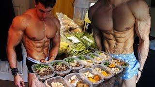 getlinkyoutube.com-FULL DAY OF EATING with 19 Year Old Bodybuilder Brandon Harding