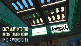 getlinkyoutube.com-How to Get to the Secret Room in Diamond City the Super Easy Way!