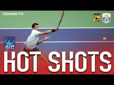 Hot Shot: Dimitrov And Nadal`s Athleticism In Shanghai 2017