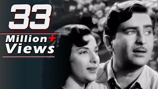 getlinkyoutube.com-Aaja Sanam Madhur Chandani - Raj Kapoor, Nargis, Chori Chori Song