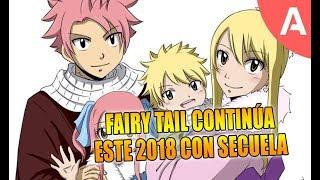 Confirmado: Fairy Tail regresará con secuela este 2018