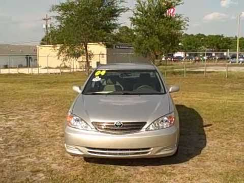 Used car dealer Gainesville, Ocala Fl.04 TOYOTA CAMRY LE CALL FRANCIS (