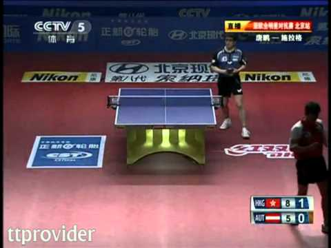 Asia vs. Europe 2011: Tang Peng-Werner Schlager