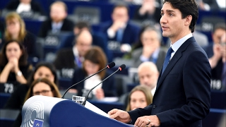 getlinkyoutube.com-Canadian PM Justin Trudeau's speech at the European Parliament