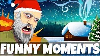 getlinkyoutube.com-Happy Wheels Funny Moments | EPIC SANTA CLAUS FAILS (Christmas Levels)