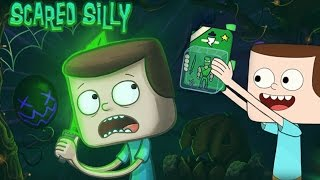 getlinkyoutube.com-Clarence: Scared Silly - Help Jeff Navigate Clarence's Spooky House (Cartoon Network Games)