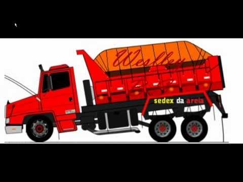 Desenhos de caminhões WBS com música do DJ Wagner