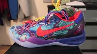 getlinkyoutube.com-Nike Kobe 8 What The Kobe - WTK