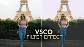 VSCO FILTER / VINTAGE Photo Effect in Photoshop