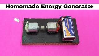 getlinkyoutube.com-How to Make Homemade Mini Energy Generator using DC Motors