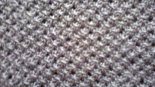 getlinkyoutube.com-Вязание на спицах (узор сеточка).  Knitting (mesh pattern).