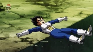 O capiroto puxou o pé do Vegeta - Análise Mil Grau do Ep 119 de Dragon Ball Super