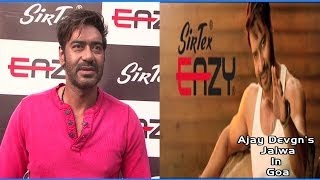 Ajay Devgn Launches Sirtex Vests In Goa