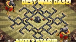 getlinkyoutube.com-CLASH OF CLANS | TH9 BEST WAR BASE 2015 | ANTI 2 S