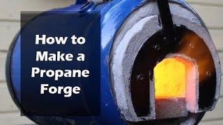 getlinkyoutube.com-How to Make a Propane Forge