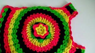 getlinkyoutube.com-Crochet Bolero part 1A