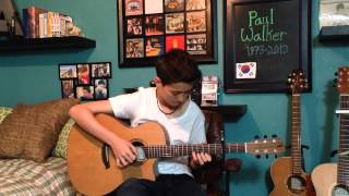 See You Again - Wiz Khalifa ft. Charlie Puth -Fingerstyle Guitar Cover -