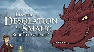 getlinkyoutube.com-How The Desolation of Smaug Should Have Ended