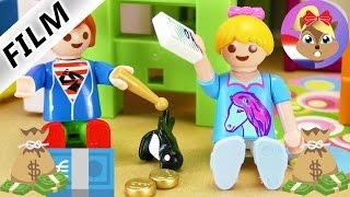 Playmobil filmpje Nederlands   JULIAN en HANNAH willen meer geld   Spaarvarken of meer zakgeld?