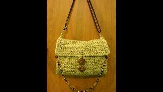 CROCHET How To #Crochet Chunky Handbag Purse #TUTORIAL #137 LEARN CROCHET