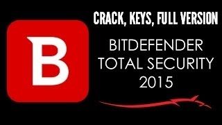 BitDefender Total Security 2015 Download License Key + Crack