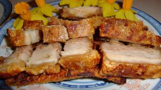getlinkyoutube.com-Hong kong crispy roasted pork belly (Siu Yuk) 脆皮燒肉