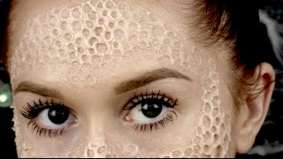 getlinkyoutube.com-Trypophobia // SFX // How To Use Nose & Scar Wax