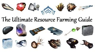 getlinkyoutube.com-Warframe - The Ultimate Resource Farming Guide (2016) (Pre-Specters Of The Rail)