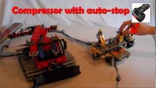 getlinkyoutube.com-Lego - PistenBully 600 Snow Groomer Control demo