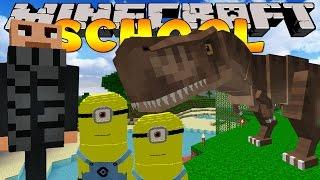 getlinkyoutube.com-Minecraft School - SUCKED INTO A MOVIE!