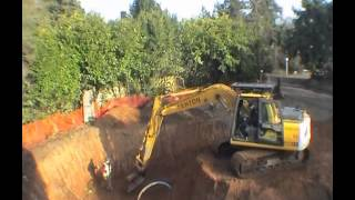 getlinkyoutube.com-Tony's House - Video 1(clearing the site and digging the basement)