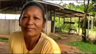 getlinkyoutube.com-We visit an Arawak indian settlement and speak with some women; tribal chief Daniel Gomez!
