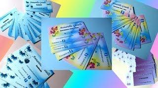 getlinkyoutube.com-Cartellini orecchini, tag e biglietti da visita personalizzati