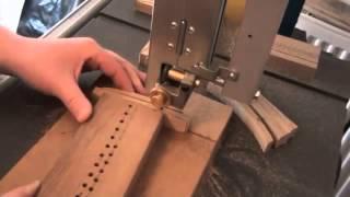 getlinkyoutube.com-Cutting Segments For Segmented Drum Shell (Segmented Wood Turning)
