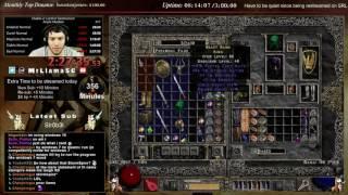 getlinkyoutube.com-Diablo 2 - Holy Grail Sorc (Find every item) MFing (10/01/2016)