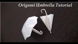 getlinkyoutube.com-How to Make a Paper Umbrella - Origami