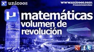 Imagen en miniatura para Volumen de revolucion 01 - Metodo de los discos