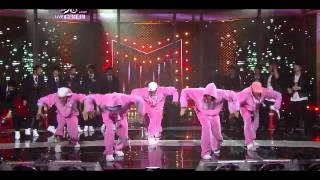 getlinkyoutube.com-[Live 110325] ZE:A, Dalmatian, Infinite Dance Battle