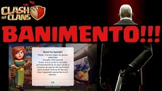 getlinkyoutube.com-BRASILEIROS BANIDOS DO CLASH OF CLANS!!!