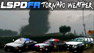 getlinkyoutube.com-GTA 5 LSPDFR 3.1 Police Mod : F5 Tornado Mod Weather! with Texas State Troopers