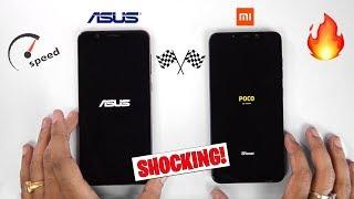Poco F1 vs 6GB Zenfone Max Pro M1 Speedtest Comparison & RAM Management [MINDBLOWING RESULTS] 🔥