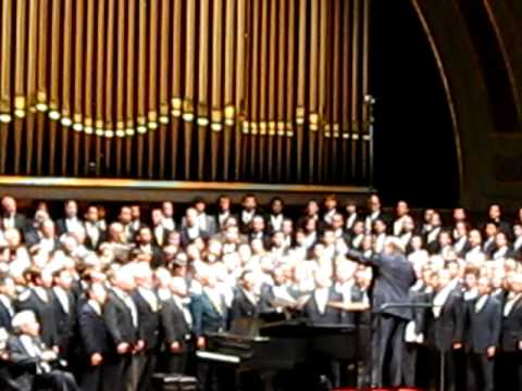 University of Michigan Mens Glee Club 150th, Ave Maria by Biebl