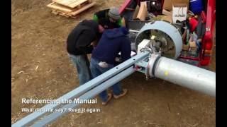getlinkyoutube.com-Wind Turbine Installation   Evance 5 kW